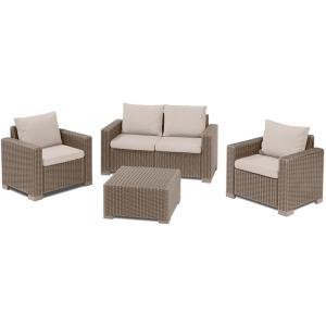 Allibert loungeset California 2-zits cappuccino