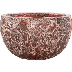Dagaanbieding - Lava Relic pink bowl bloempot 40x24 cm dagelijkse aanbiedingen