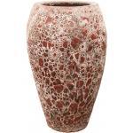 Lava Relic pink emperor hoge bloempot 45x75 cm