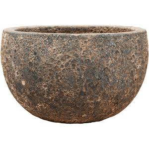 Dagaanbieding - Lava Relic Rust metal bowl bloempot 40x24 cm dagelijkse aanbiedingen