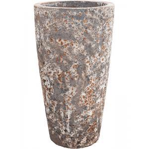Lava Relic Rust metal partner hoge bloempot 46x85 cm