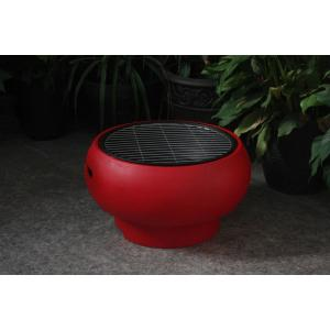 Draagbare barbecue BBGrill rood