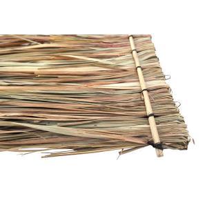 Strodak op stok van gedroogde palmbladeren 70 x 150 cm