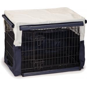 Korting Hoes voor hondenbench benco beige blauw 89 x 60 x 66 cm