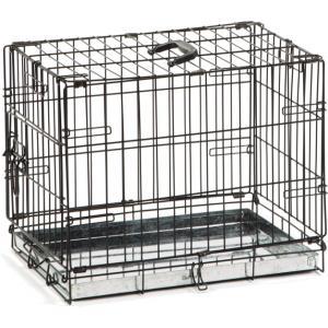 Hondenbench 1 deurs zwart 49 X 36 X 40 cm