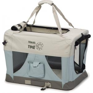 Nylon hondenbench Travel Time 60 x 42 x 42 cm