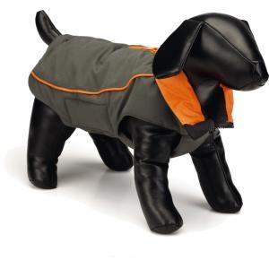 Nano hondenjas Vail Grijs/oranje 60 cm