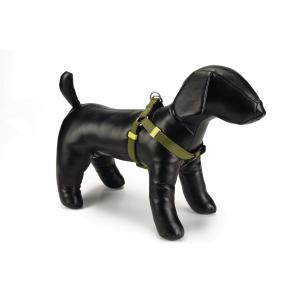 Hondentuig nylon 35-60cm lichtgroen
