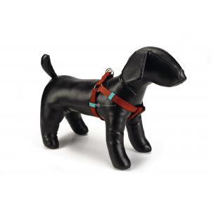 Hondentuig nylon 46-75cm lichtbruin