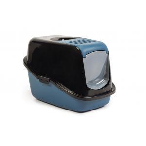 Nestor kattenbak blauw / zwart