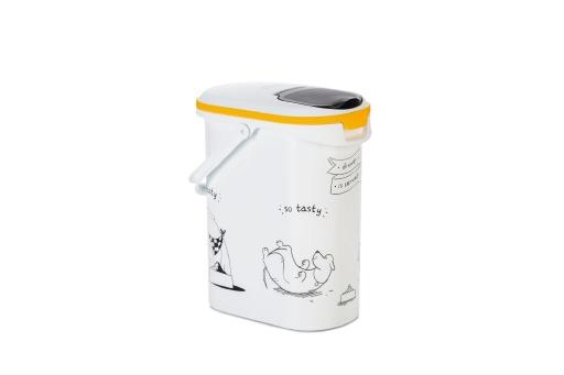 Curver dis voedselcontainer hond wit 10l 4kg