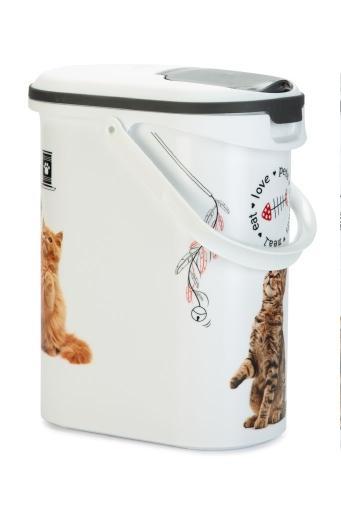 Curver voedselcontainer kat wit 10l 4kg