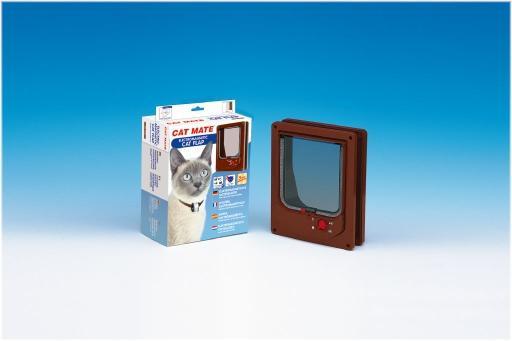 Catmate kattendeur electromagnetisch 254 - kattenluik - wit
