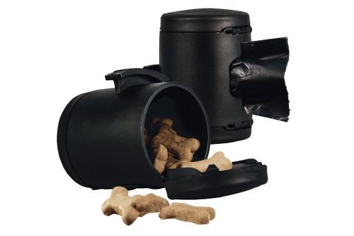 Flexi vario poepzak-snackbox zwart