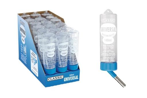 Classic fles universal - drinkfles knaagdier - 140 ml