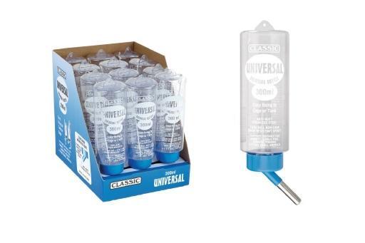 Korting Classic fles universal drinkfles knaagdier 300 ml