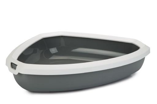 Rincon open - kattenbak - grijs - 58,5x45,5x12 cm