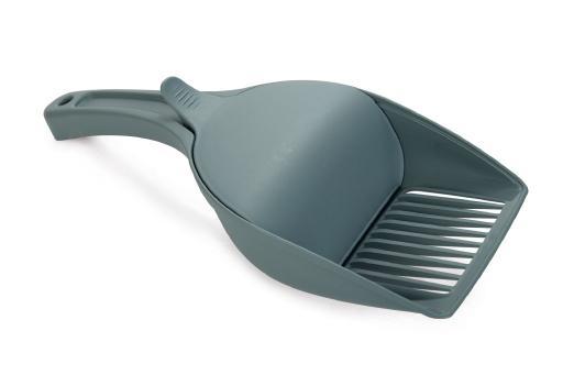 Twice - kattenbakschep - lichtblauw - 27,5x12,5 cm