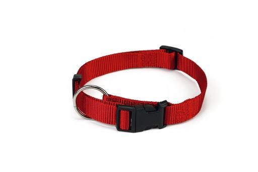 Beeztees halsband hond nylon rood 30 45 cm x 15 mm
