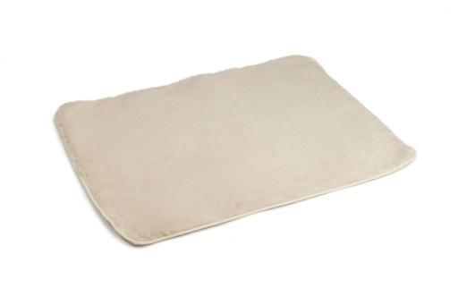 Beeztees vetbed hondenmat afgebiesd beige 100x75 cm