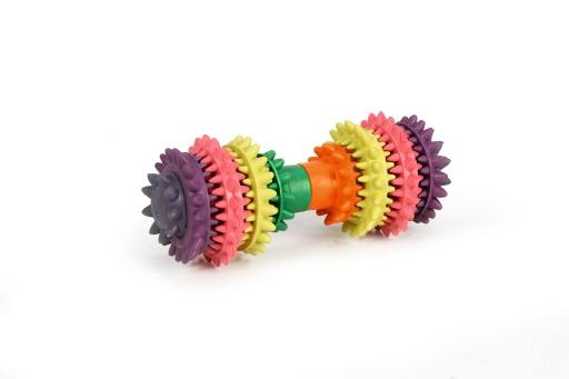 Beeztees halter dental care hondenspeelgoed rubber 14x6 cm