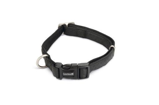 Macleather Hondenhalsband Met print Zwart 50 x 2 cm