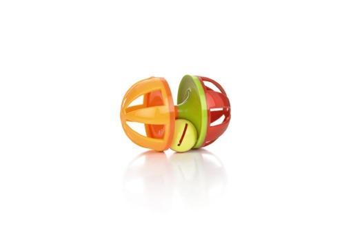 Beeztees wiggle halter - knaagdierspeelgoed - plastic - 10 cm