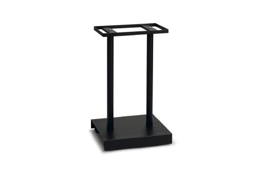 Beeztees jason - vogelkooistandaard - zwart - m - 65 cm