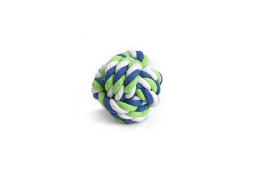 Beeztees touwbal - knaagdierspeelgoed - 7 cm