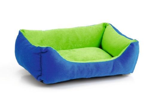 Beeztees kussen knaagdier groen blauw 33x22x8 cm
