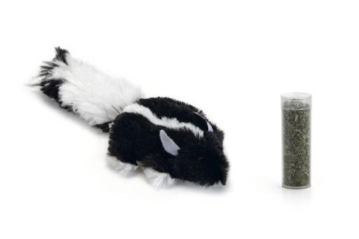 Beeztees snuffy kattenspeelgoed incl. catnip 14 cm