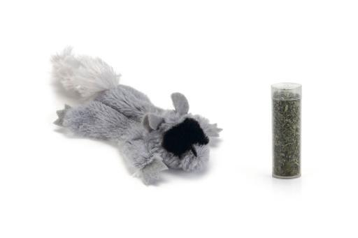 Beeztees tex - kattenspeelgoed - incl. catnip - 14 cm