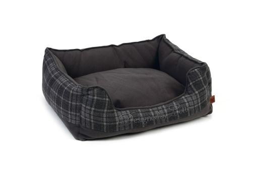 Designed by lotte sliepa - hondenmand - grijs - 55x50x20 cm