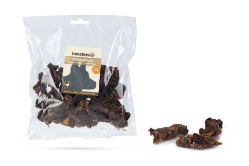 Beeztees kippenmaagjes hondensnack 150 gram