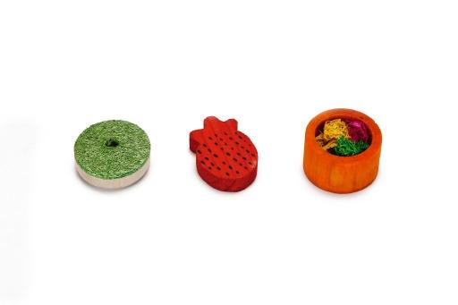 Beeztees treety - knaagdierspeelgoed - 3st