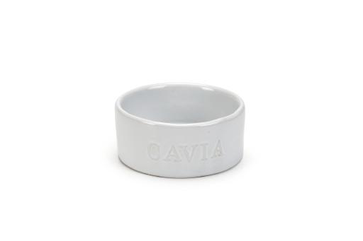Korting Beeztees gnowy caviavoerbak keramiek wit 10 cm