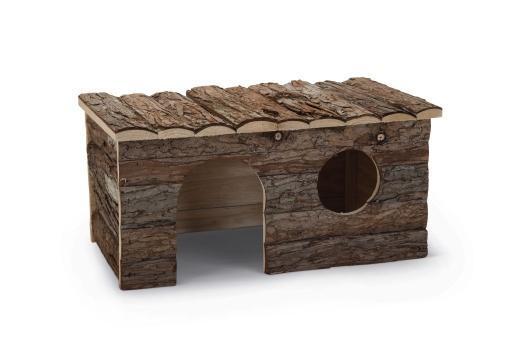 Beeztees royal forest blokhut - knaagdier - 40x23x20 cm