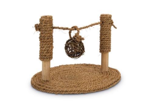 Beeztees speelbrug - knaagdierspeelgoed - 19x24x16,5 cm