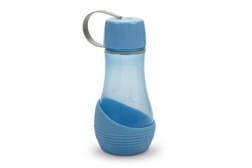Beeztees aventura draagbare drinkset hond blauw 23 cm