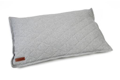 Beeztees sweat - hondenkussen - grijs - 100x70 cm