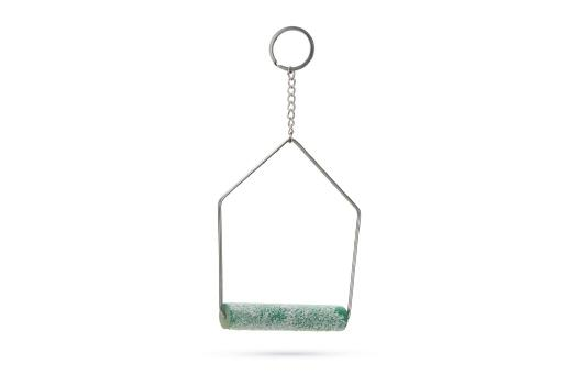 Beeztees curvy nagelslijtschommel - vogelspeelgoed - 19x12 cm