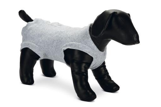 Beeztees bescherm bodysuit - hond - grijs - 52x64 cm