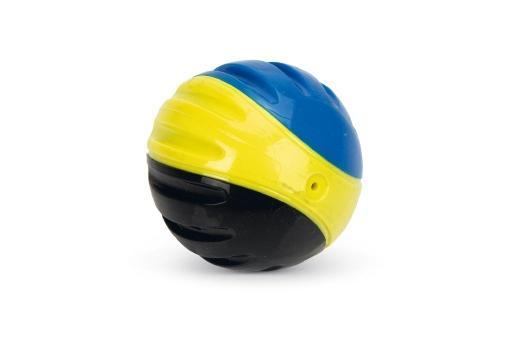 Beeztees fetch ball hondenspeelgoed tpr 6,3 cm 2st