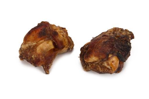 Beeztees gedroogde runder knieschijven - hondensnack - 2st