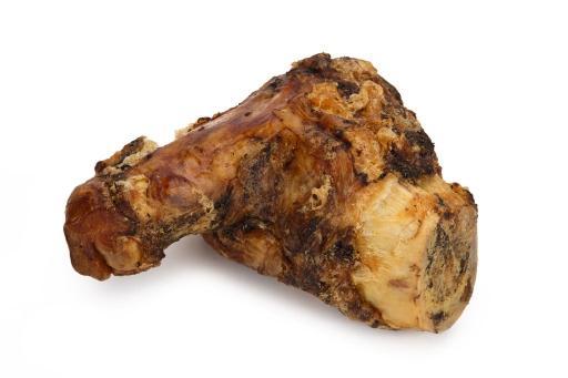 Beeztees gedroogde runderhak - hondensnack - 19-21 cm