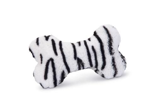 Beeztees myca hondenspeelgoed zwart wit 18x13x3 cm