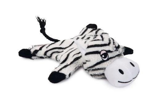 Korting Beeztees zino hondenspeelgoed zwart wit 18x19x8 cm