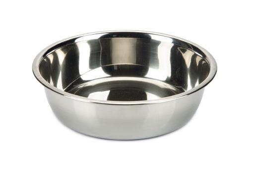 Beeztees - hondenvoerbak - rvs - 17 cm