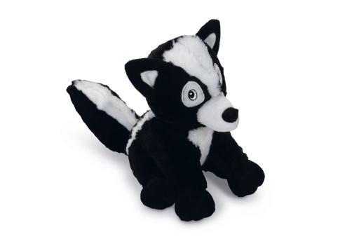 Beeztees spud - hondenspeelgoed - zwart/wit - 20 cm