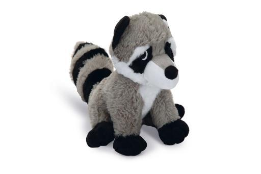 Korting Beeztees racco hondenspeelgoed grijs 20 cm